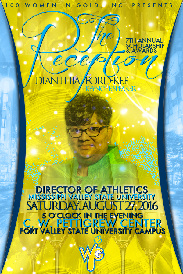 Image - WIG 7th Annual Reception Announcement Flyer - featuring Dianthia Ford-Kee